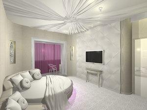 Белая спальня по прежнему в моде