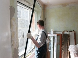 Правильный демонтаж пластикового окна