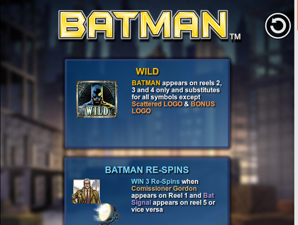Игровой автомат Batman: спаси мир и заработай деньги
