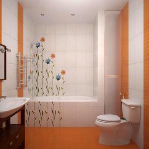 Интерьер ванных комнат