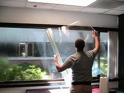 Защитные пленки для пластиковых окон